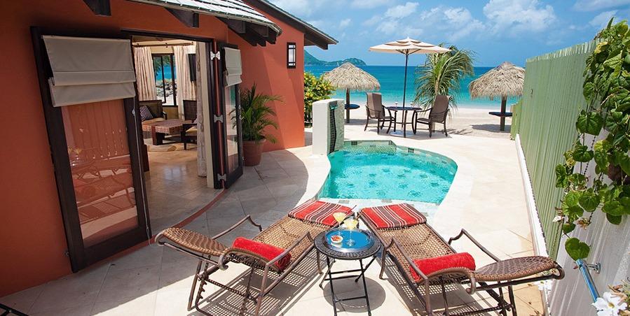 Sandals Grande St. Lucian Plunge Pool