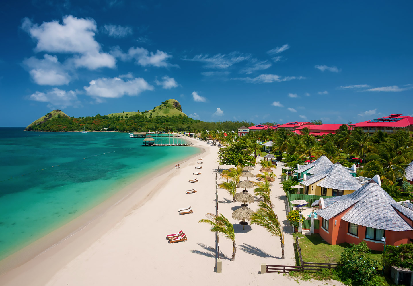 Explore The Beauty Of Caribbean: Sandals Grande St. Lucian - Resorts Daily