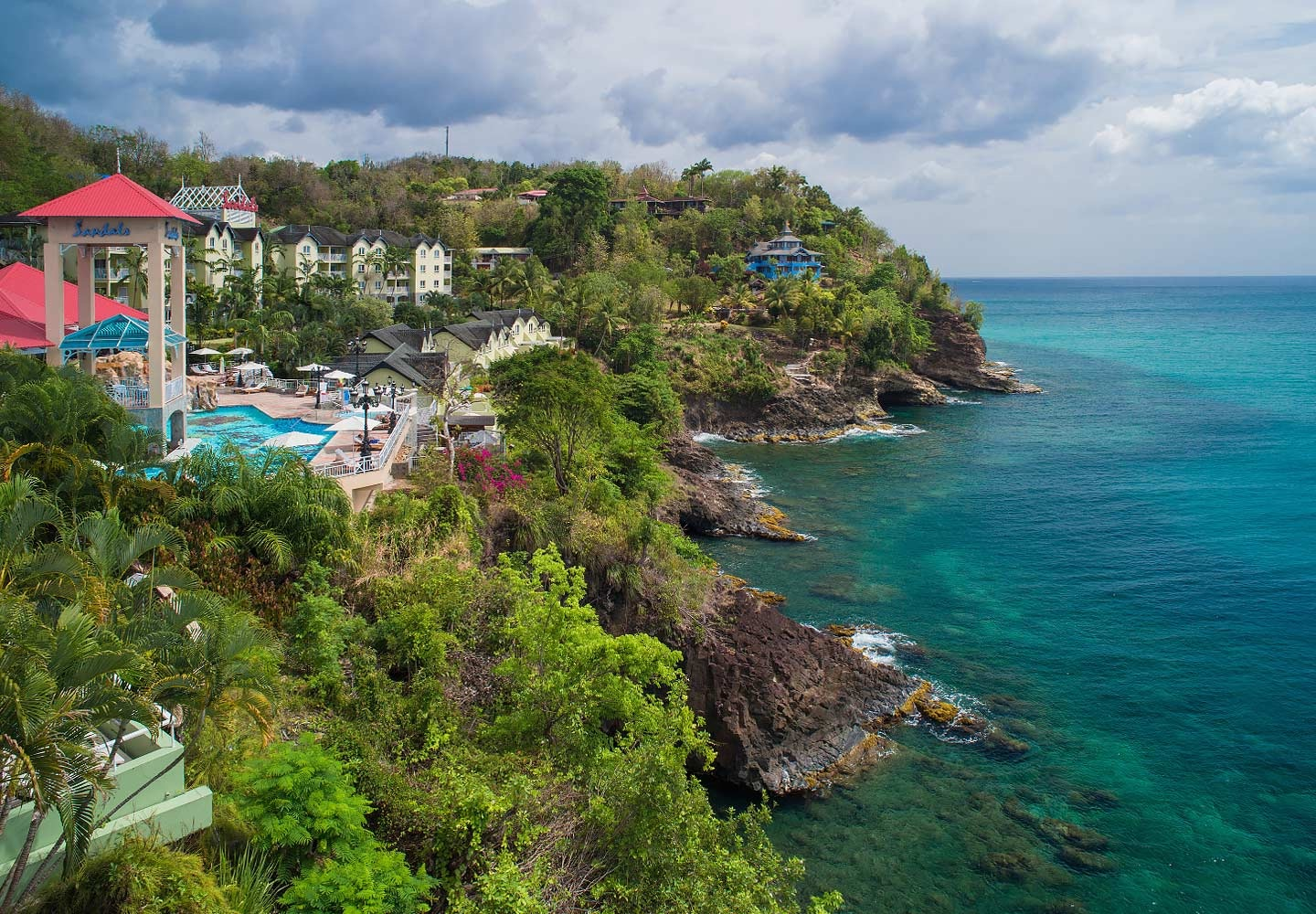 Sunset Bluff Village offers great views from its cliffside location.