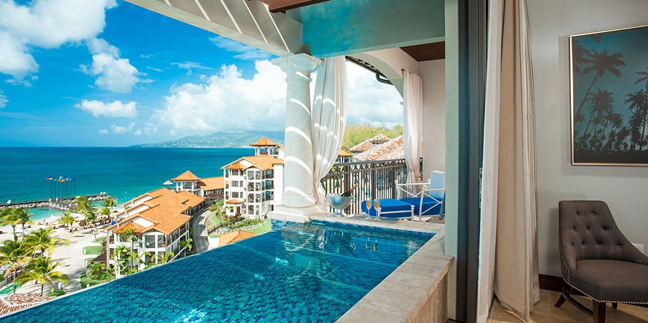 Sandals LaSource SkyPool Suite