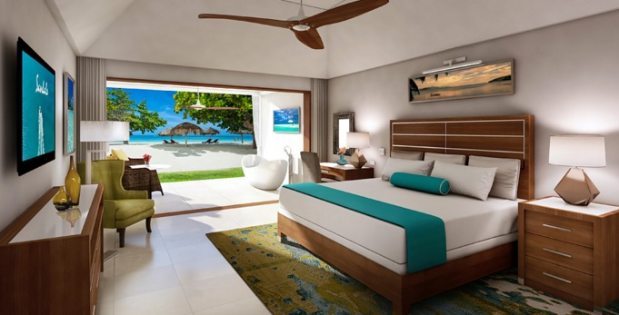 New Palm Suites At Sandals Montego Bay Resorts Daily