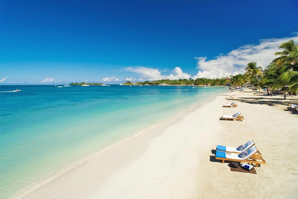 Sandals Negril is located on popular Seven Mile Beach in Jamaica,