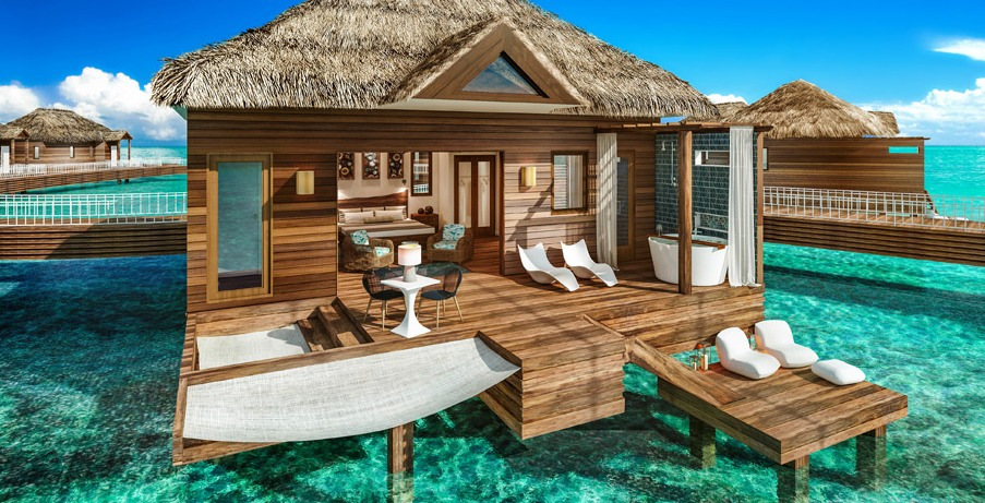 Over-the-Water Private Island Butler Honeymoon Bungalows