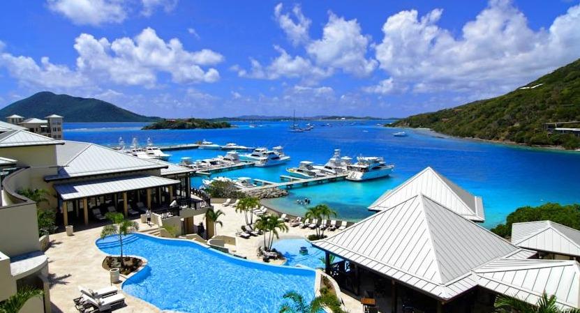 Scrub Island Resort Pavilion Pool