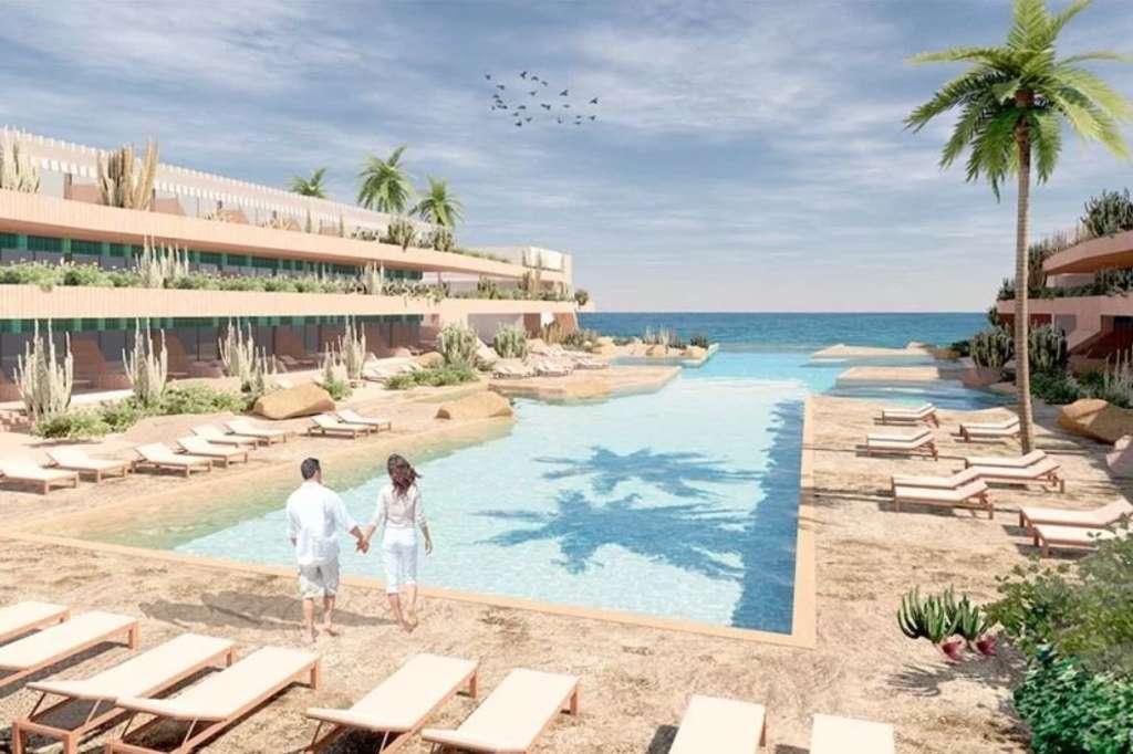 A rendering of Secrets Baby Beach Aruba