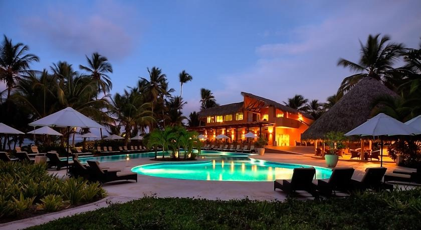 Pool area at the adults-only Sivory Punta Cana Boutique Hotel