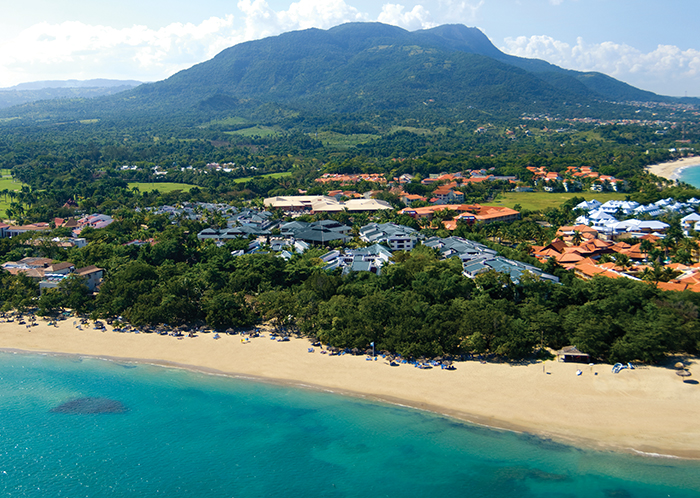 Aerial view of Sunscape Puerto Plata