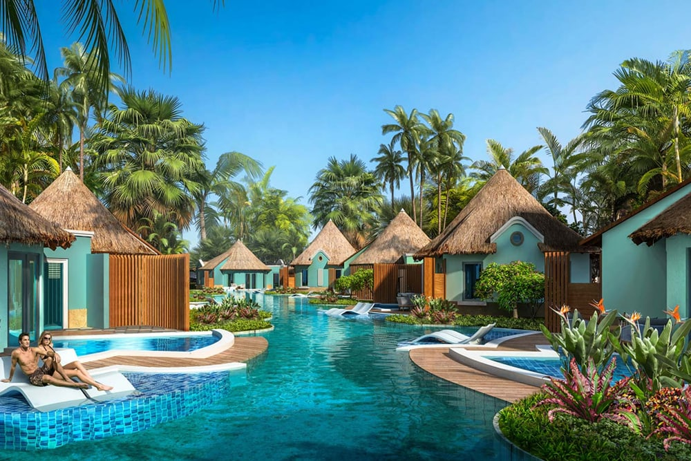 Swim-Up Rondoval Suites at Sandals South Coast