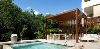 Private pool suite at TRS Yucatan Hotel