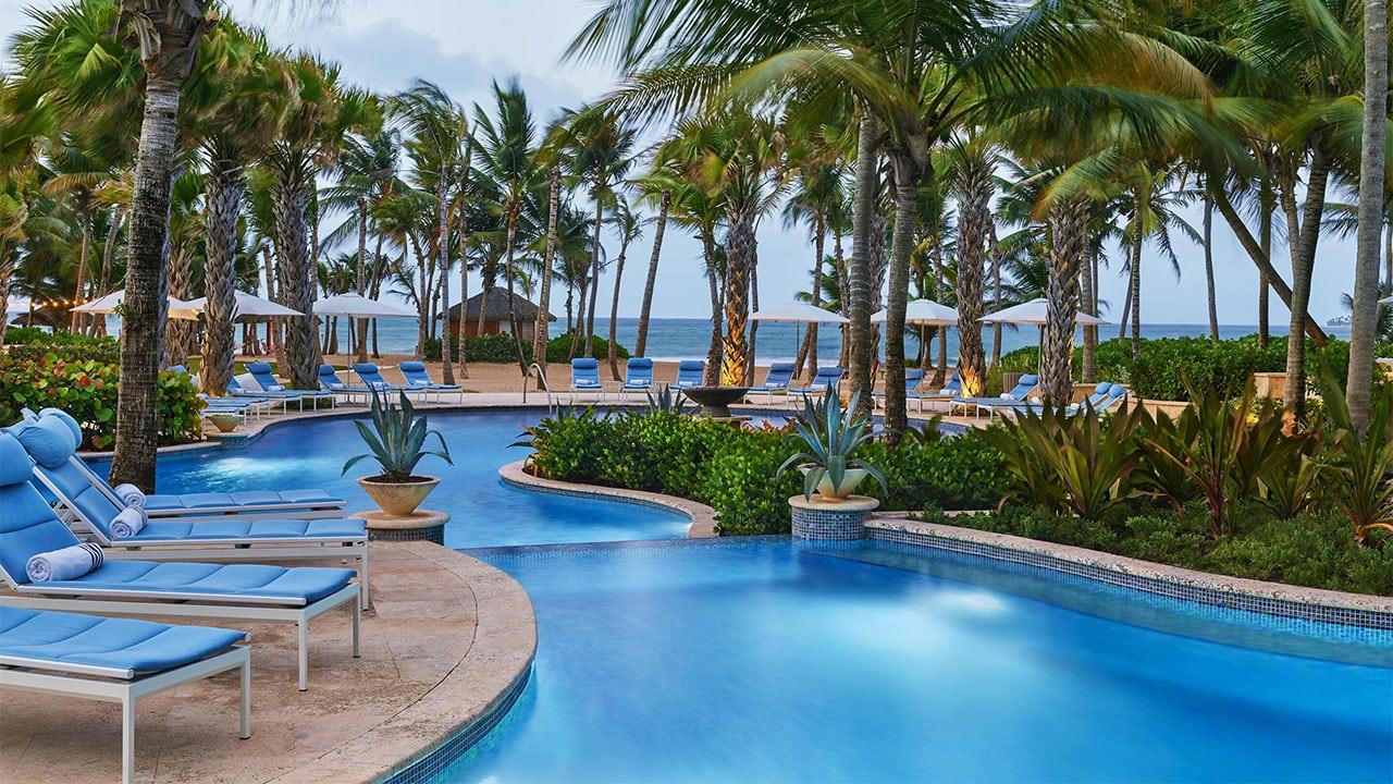 Lagoon pool at The St. Regis Bahia Beach Resort
