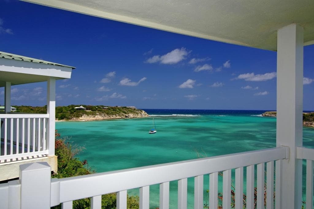 Balcony views from The Verandah Resort & Spa Antigua