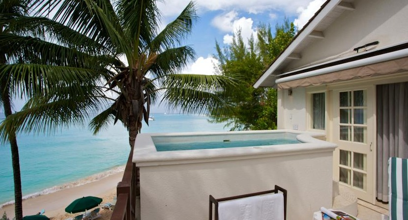 Some rooms at Treasure Beach have private plunge pools.
