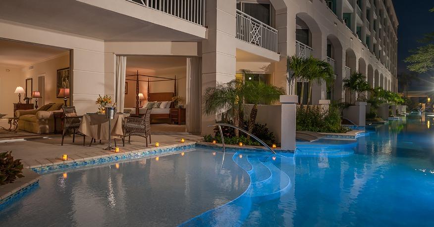 Windsor Honeymoon Hideaway Swim Up Crystal Lagoon Zen One Bedroom Butler Suite
