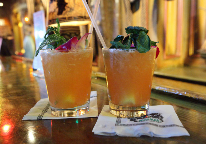 The Mai Tai is a tiki classic made with rum and fruit juice.