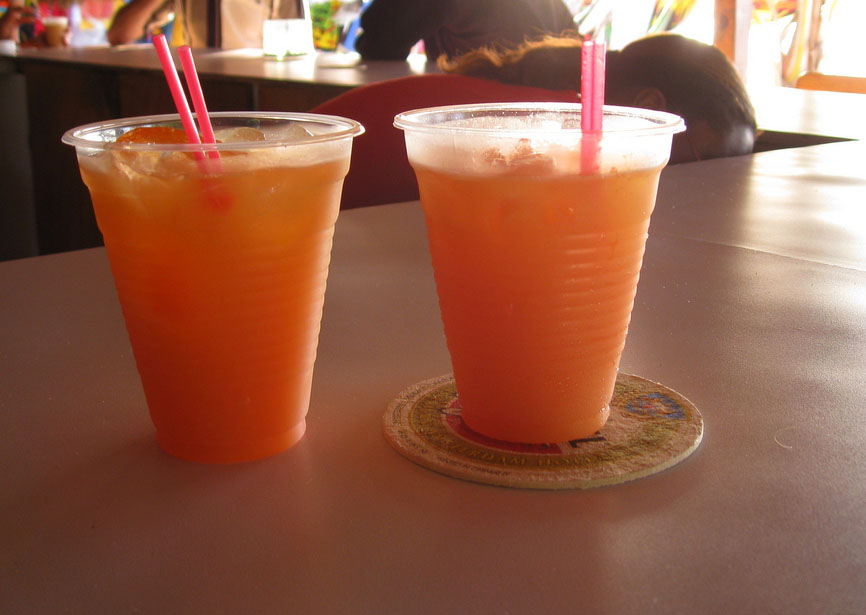 The rum runner is a popular rum drink found throughout the Caribbean.